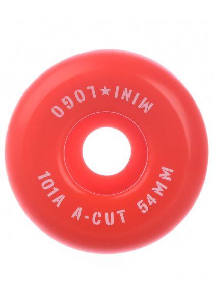Mini-Logo Rollen A-Cut #3 101A red vorderansicht 0134703