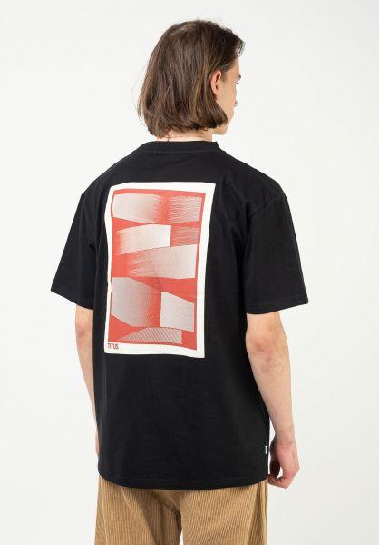 TITUS T-Shirts Cisco black vorderansicht 0321911