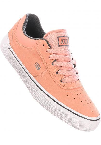 etnies Alle Schuhe Joslin Vulc x Michelin pink vorderansicht 0604819