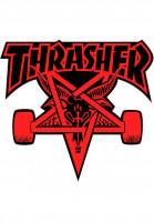 Thrasher-Verschiedenes-Skategoat-Die-Cut-Sticker-red-Vorderansicht