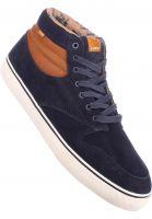 Element Alle Schuhe Topaz C3 Mid navy-brown-white Vorderansicht