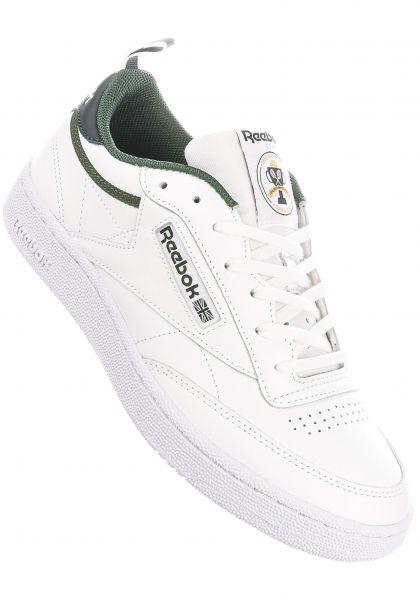 Reebok Alle Schuhe Club C 85 utilitygreen-ivygreen-white vorderansicht 0604518