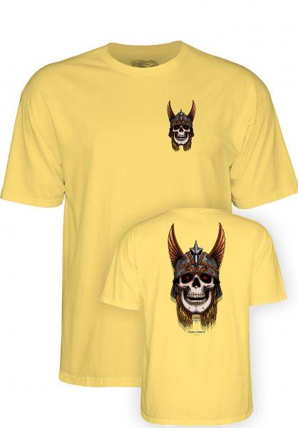 Powell-Peralta T-Shirts Andy Anderson Skull banana vorderansicht 0321018
