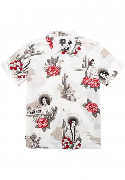 Loser-Machine Hemden kurzarm Rosarito white vorderansicht 0401017