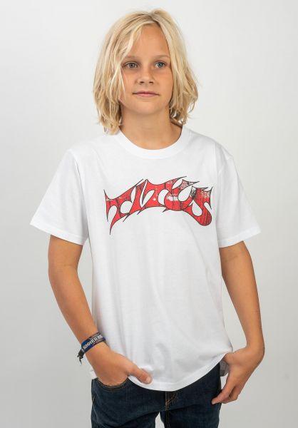 TITUS T-Shirts Schranz Kids white vorderansicht 0373632