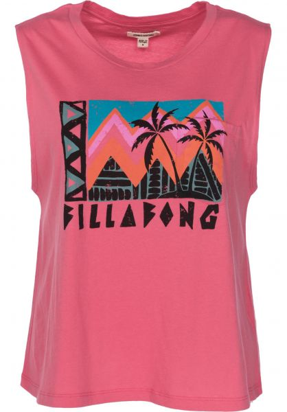 Billabong Tops Find Your Tribe guava Vorderansicht