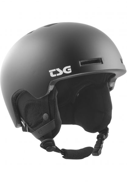 TSG Snowboardhelme Verticle Solid Color satin black Vorderansicht 0223014