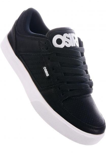 Osiris Alle Schuhe Protocol black-white vorderansicht 0603252