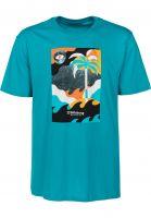Billabong T-Shirts Spacecase teal Vorderansicht