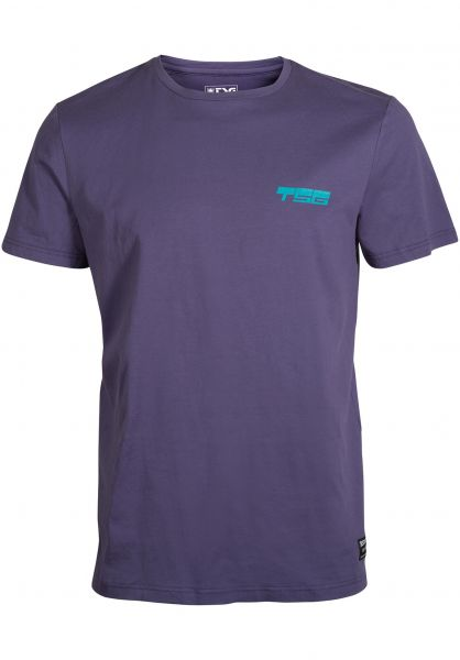 TSG T-Shirts Slant lavandula vorderansicht 0321080