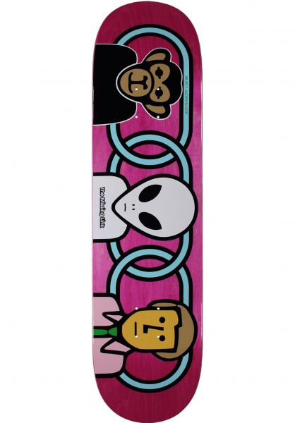 Alien-Workshop Skateboard Decks Missing link natural vorderansicht 0262269