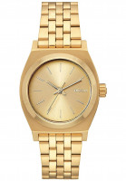 Nixon Uhren Medium Time Teller all-gold Vorderansicht