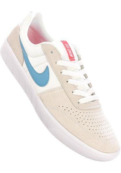 Nike SB Alle Schuhe Team Classic summitwhite-cerulean-white vorderansicht 0604425