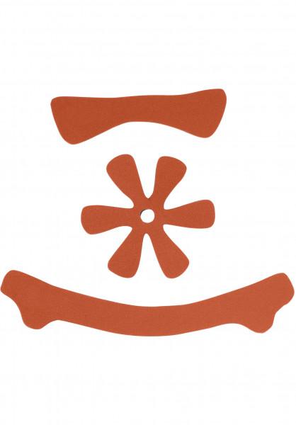 TSG Diverse Schoner Meta Helmet Pad Kit DC orange Vorderansicht