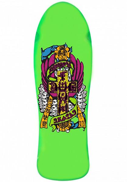 Dogtown Skateboard Decks Eric Dressen Re-Issue green Vorderansicht