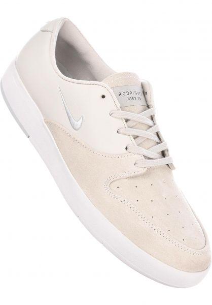 Nike SB Alle Schuhe Zoom P-Rod X white-pureplatinum Vorderansicht