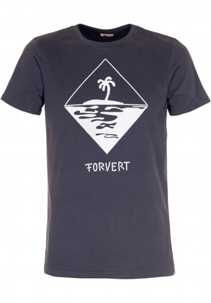 Forvert T-Shirts Tad navy Vorderansicht