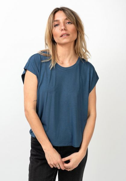 Forvert T-Shirts Ava blue vorderansicht 0320113