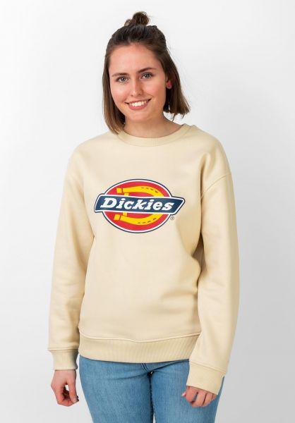 Dickies Sweatshirts und Pullover Pittsburgh Wmn lighttaupe vorderansicht 0422835