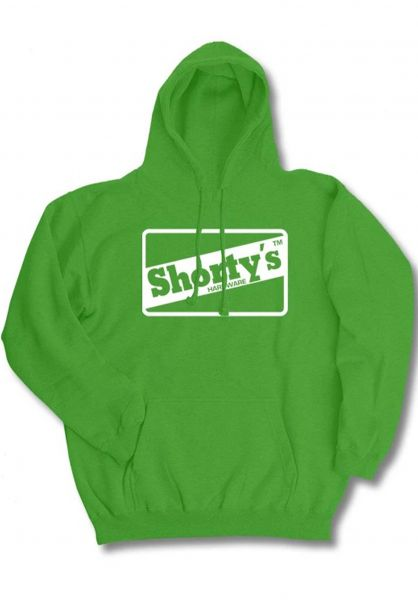 Shortys Hoodies OG Outline green vorderansicht 0446142