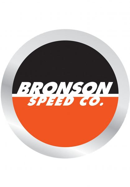 Bronson Speed Co. Verschiedenes Spot Logo black-orange vorderansicht 0971519
