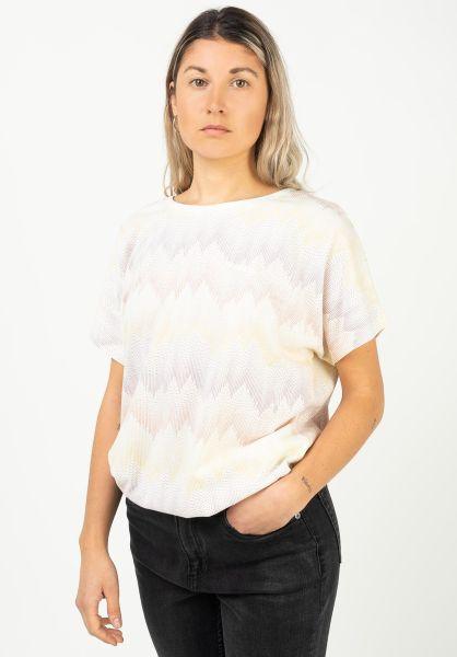 Mazine T-Shirts Celina offwhite-zigzag vorderansicht 0322275