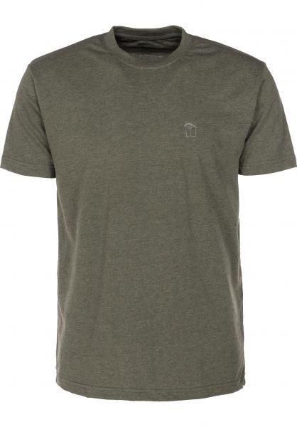 Mahagony T-Shirts Small T.O.L olive vorderansicht 0399468