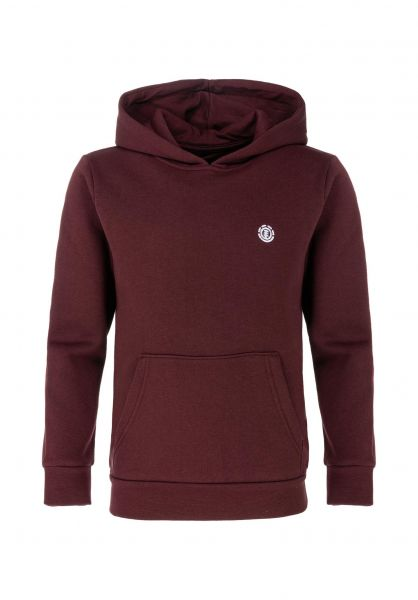 Element Hoodies Cornell Kids vintagered vorderansicht 0445995