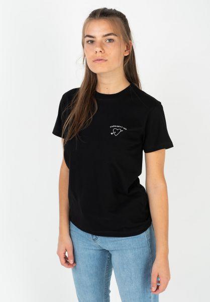 Carhartt WIP T-Shirts W´ Reverse Midas black-white vorderansicht 0322186
