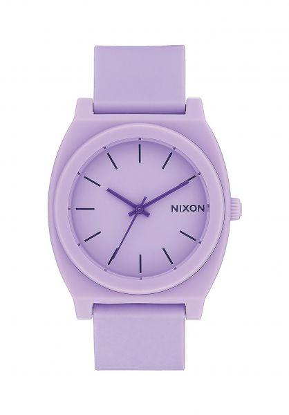 Nixon Uhren The-Time-Teller-P matte-violet Vorderansicht
