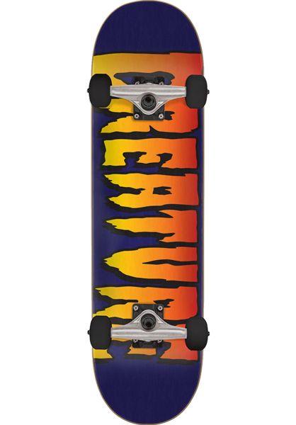 Creature Skateboard komplett Logo Fall19 purple vorderansicht 0162019