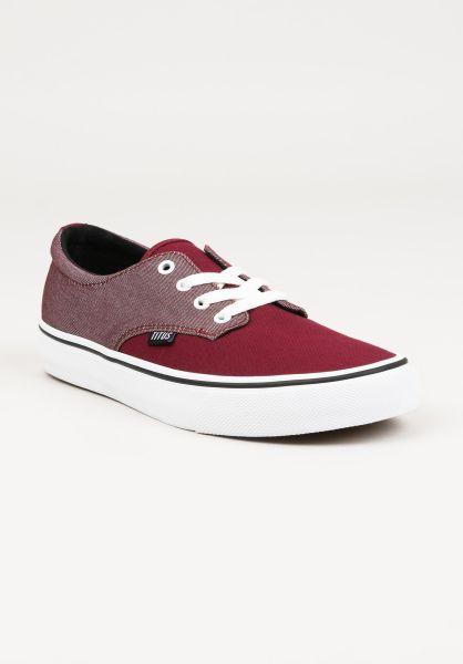 TITUS Alle Schuhe Clubman chambray-burgundy-burgundy-white vorderansicht 0604300