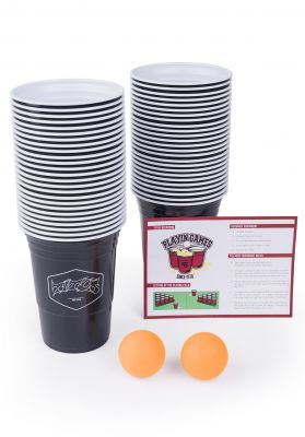 TITUS Beer Pong Set Grizzly | 50 Cups