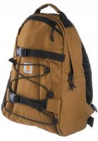 Carhartt-WIP-Rucksaecke-Kickflip-hamilton-brown-Vorderansicht