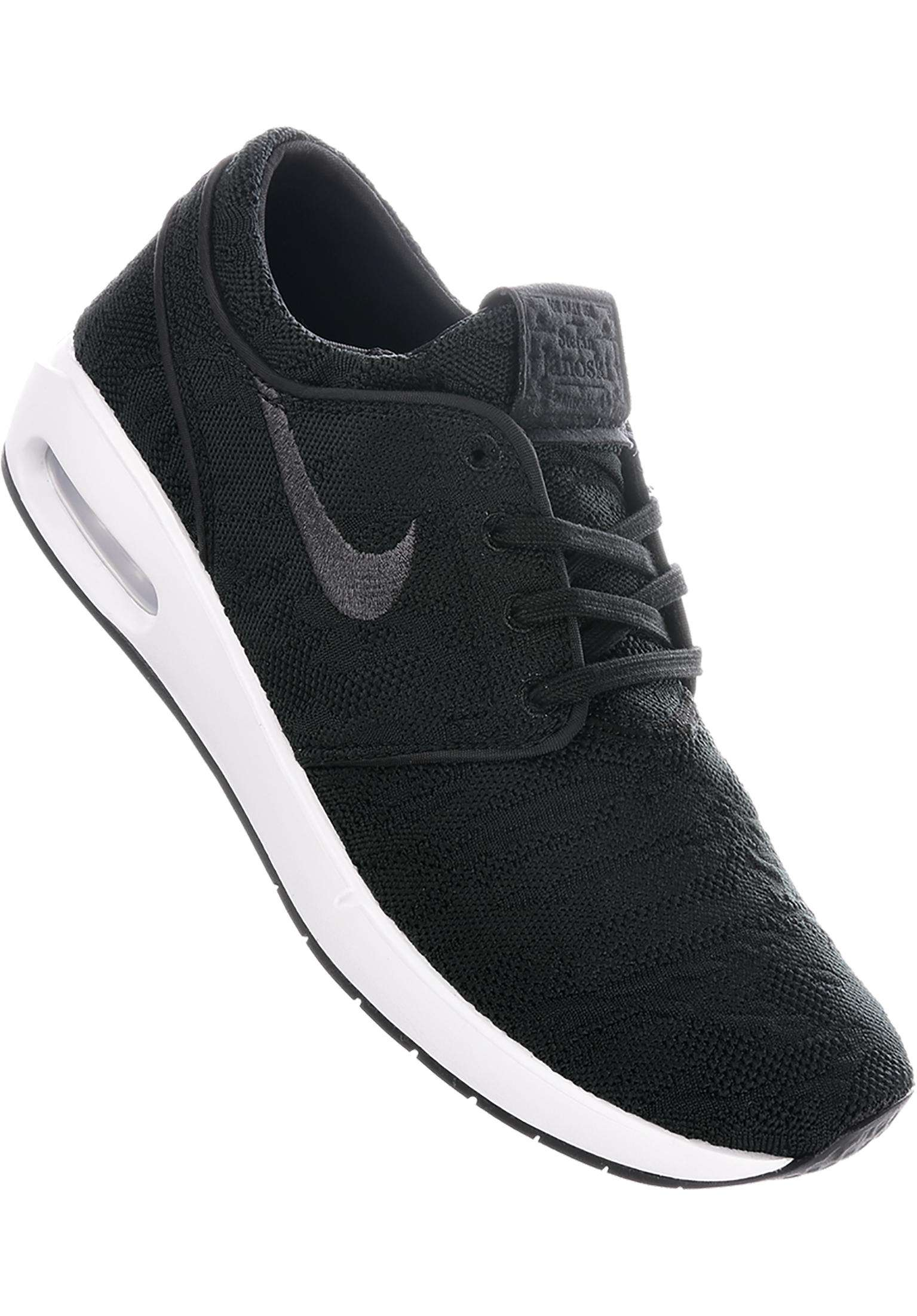 19fa53f217fb2 Air Max Janoski 2 Nike SB All Shoes in black-anthracite-white for Men |  Titus