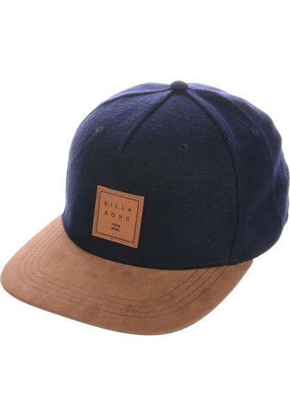 Billabong Caps Stacked Up navy vorderansicht 0566419