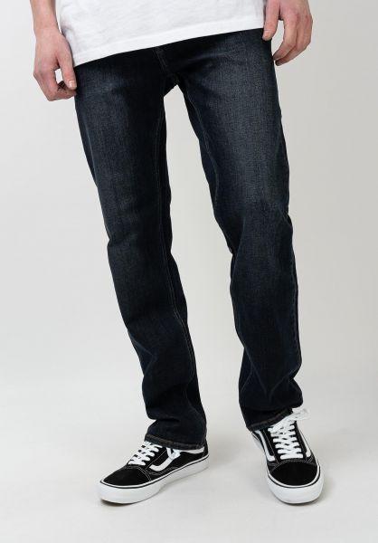 Volcom Jeans Solver Denim vintageblue vorderansicht 0107425