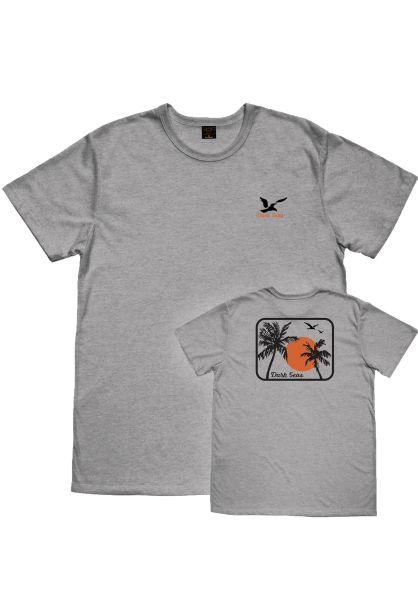 Dark Seas T-Shirts Travel Light Blended stone vorderansicht 0399053