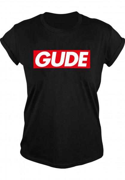 GUDE T-Shirts Schranke Girlie black Vorderansicht