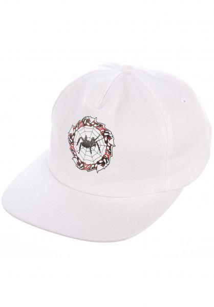TITUS Caps Classic Spider Snapback white vorderansicht 0566299