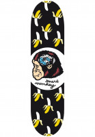 Consolidated-Skateboard-Decks-Smart-Monkey-black-Vorderansicht