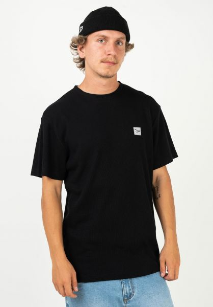 TITUS T-Shirts Noah black vorderansicht 0320160