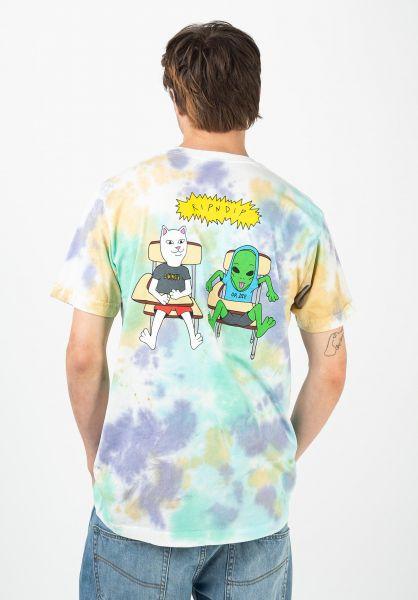 Rip N Dip T-Shirts Butz Out multicloudwash vorderansicht 0321744