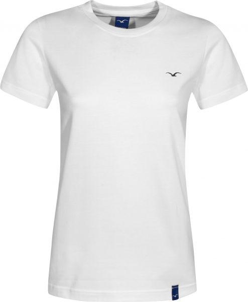 Cleptomanicx T-Shirts Ligull white Vorderansicht