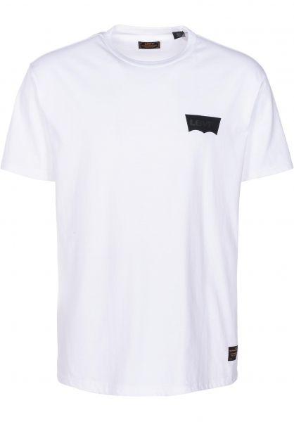 Levis Skate T-Shirts Skate Graphic whitecore-batwingblack vorderansicht 0398969
