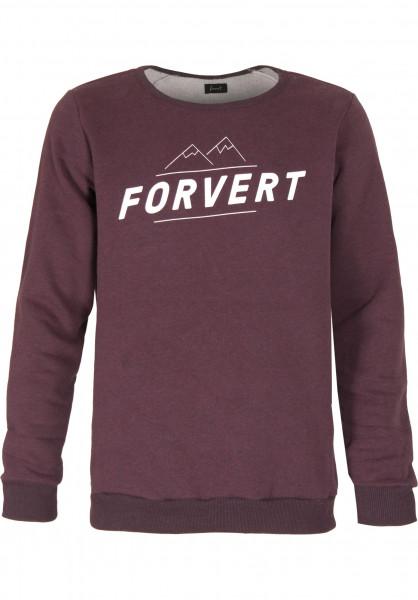 Forvert Sweatshirts und Pullover Elon red Vorderansicht