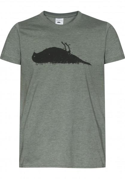 Atticus T-Shirts Bird heathermilitary Vorderansicht