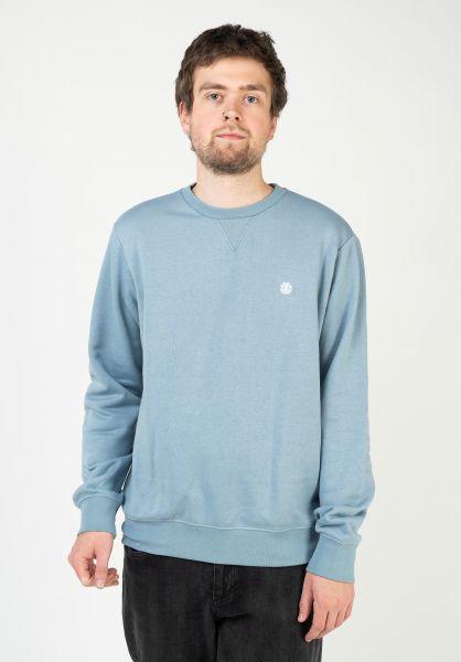 Element Sweatshirts und Pullover Cornell fadeddenim vorderansicht 0421162