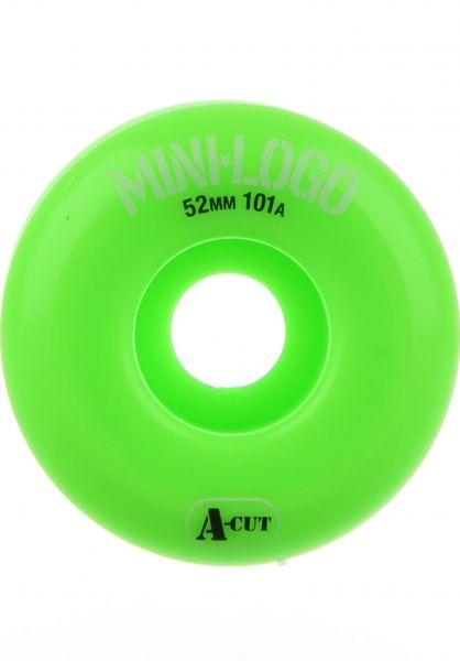 Mini-Logo Rollen A-Cut #2 101A green Vorderansicht