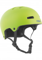 TSG Helme Nipper Maxi Solid Color Kids satin green Vorderansicht